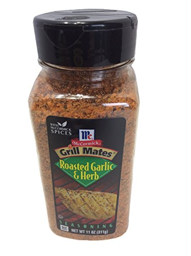 Grill Mates Roasted Garlic & Herb Seasoning, Net Wt 11oz, McCormick Spices