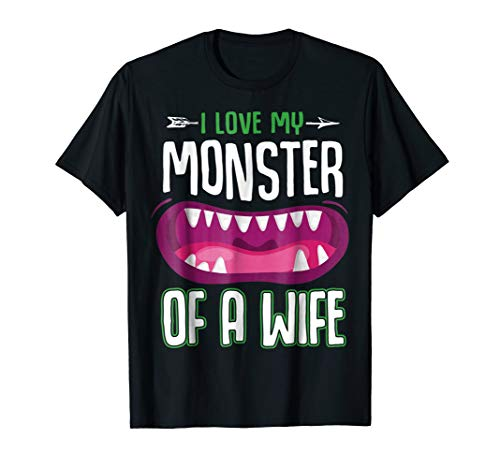 Monster Of A Wife Funny Couples Halloween