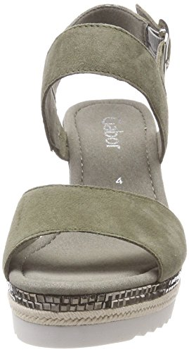 Gabor Women's Basic Ankle Strap Sandals Green (Oliv) clearance sneakernews footaction cheap price discount Inexpensive buy cheap shopping online KLHptocra
