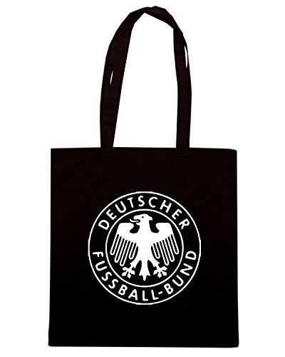 T-Shirtshock - Bolsa para la compra TSTEM0173 germany football Negro