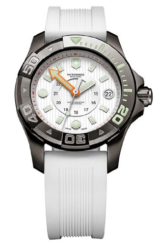 (Swiss Army Dive Master 500 Mid-Size White Dial Watch - 241556)