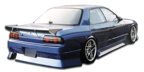 - Duraflex ED-KIZ-320 B-Sport Side Skirts Rocker Panels - 2 Piece Body Kit - Compatible For Nissan Skyline 1989-1994