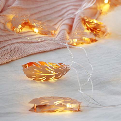 Keyboard Solar Illuminated (coersd Night Light, LED Room Decoration Light Romantic Wedding Rose Golden Feather Bedroom Light (B))