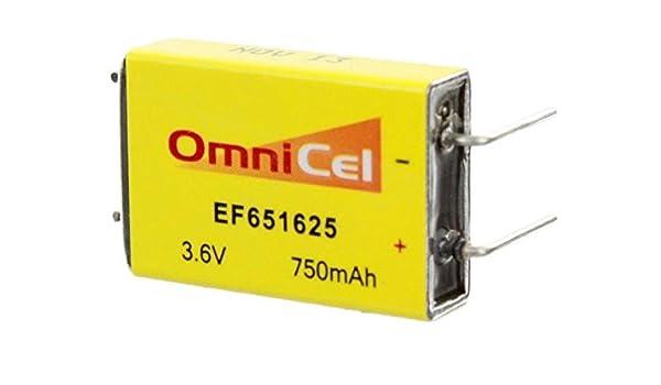 Locator Beacons 2x OmniCel ER34615 3.6V 19Ah Size D Lithium ...