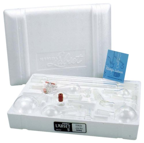 Kimax 33820-99 Glass Organic Chemistry Kit Complete with Polyethylene Case