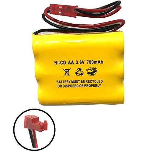 (Sure-Lites 026-148 026148 SL026148 SL-026148 SL-026-148 3.6v 700mAh Ni-CD Battery Pack Replacement for Emergency/Exit Light Navilite NNYXSB Cooper Batteryhawk,)