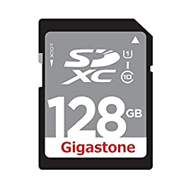 Gigastone Class 10 UHS-1 SDHC Memory Card Up to 45MB/s (GS-SDHCU116G-R) 8 Up to 45MB/s transfer speed Ideal for Digital point-and-shoot cameras, HD camcorders, DSLR's and PC's Twice as fast as ordinary SD cards
