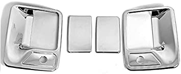DOOR HANDLE TAILGATE COVER AAL FOR 99-07 FORD F-250//F-350//F-450 CHROME MIRROR