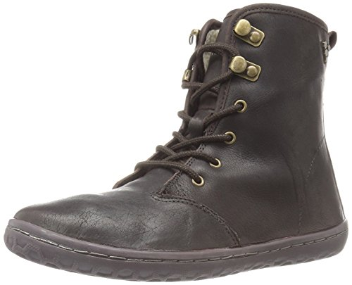 Vivobarefoot Women's Gobi Hi Top l Walking Shoe, Dark Brown/Hyde, 35 EU/(5-5.5) M US by Vivobarefoot