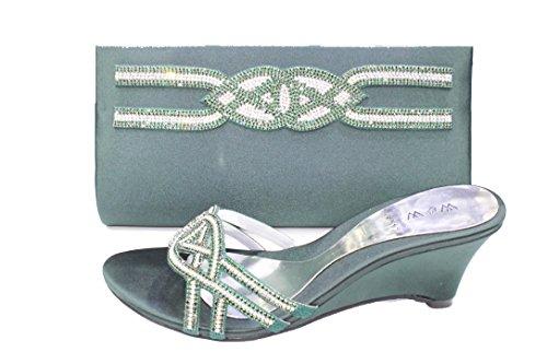 Donna Uk 5 Walk Green Sandali 36 amp; Wear IwnFxqCg4