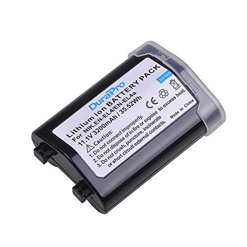 Durapro 1Pack EN-EL4 EN-EL4a ENEL4a Battery for Nikon EN-EL4,EN-EL4A Battery;Nikon D2H D2Hs D2X D2Xs D3 D3s D3x F6…