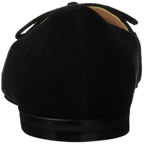 Bailarinas French 001 Cerrada Mujer Connection Negro Gesine Punta con Black para Ewpf6Swqx