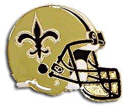 (NFL New Orleans Saints Helmet Pin)