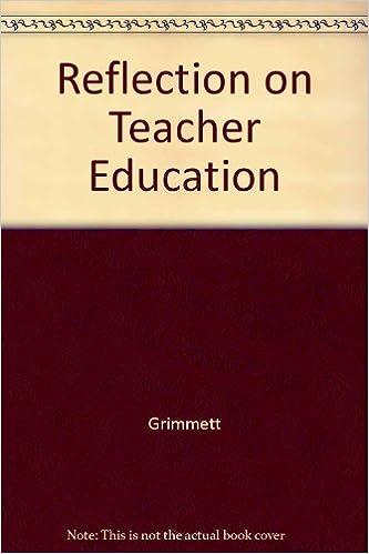 Cultivating Reflection in Teachers: Proceedings: Grimmett