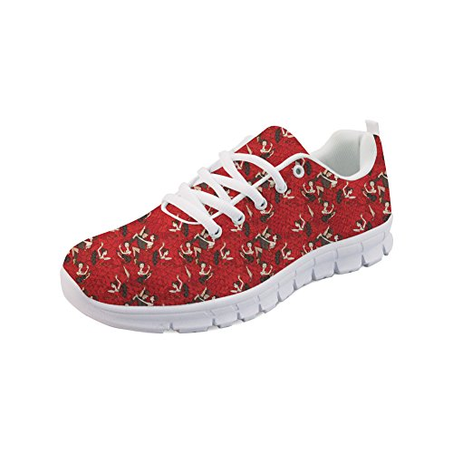 Mode Sports Femme Une Basket Rose Chaussures Fitness Nopersonality Flamenco Sneakers Athlétique De Casual Course Gym nEXF1qddxp