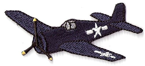 Ovedcray Embroidery Patch 2pcs Us Navy F6F Hellcat Wwii Allied Fighter Plane Patch