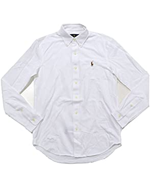 Mens Mesh Knit Oxford