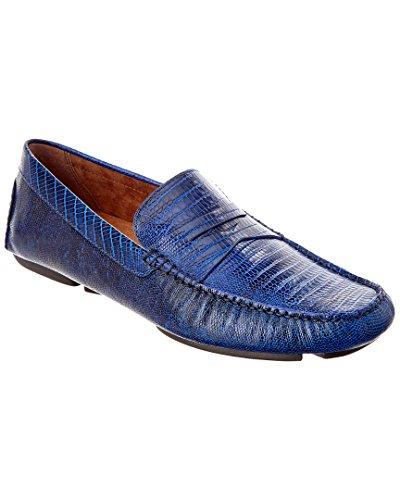 Donald J. Pliner Men's Vinco4 Blue Loafer