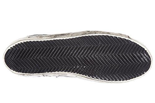Golden Goose chaussures baskets sneakers hautes femme francy blu