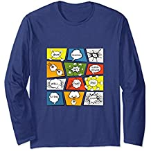 Reading is my Superpower Funny Comic Book Long Sleeve TShirt