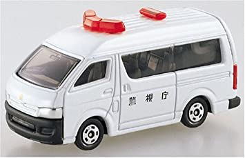 Buy Takara Tomy Toyota Hiace Multi Purpose Car White 048 7