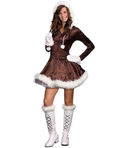 [Eskimo Cutie Pie Costume - Teen X-Small] (Eskimo Cutie Costumes)