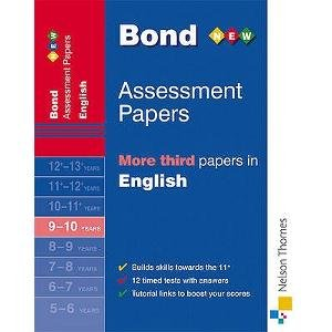 Read Online Bond More Third Papers in English 9-10 Years pdf epub