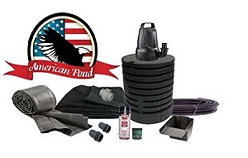 American Pond Freedom Series Mini Pond Free Waterfall Kit (Pond Liner Mini)