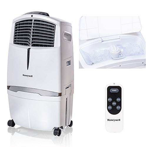 Honeywell Cl30xcww Indoor Evaporative Air Cooler, White Home Comfort