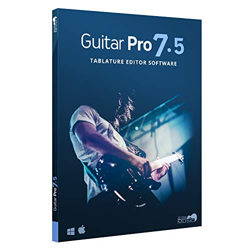 Guitar Pro 7.5 – Tablature and Notation Editor, Score Player, Guitar Amp and FX Software