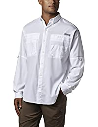 Men's PFG Tamiami II Long Sleeve Shirt, UPF 40 Sun...