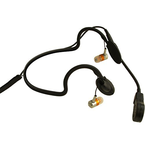 (Point Source Audio CM-i3-4F | Dual In Ear Intercom Headset Microphone 4 Pin Female XLR)