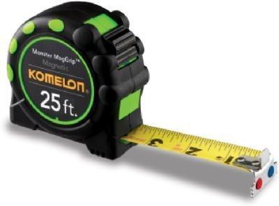 Komelon USA 7125 1'' X 25' Tape Rule