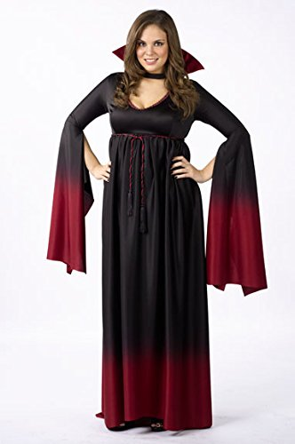 Fun World Women's Plus Size Blood Vampiress