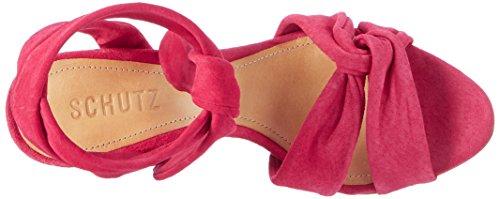 Schutz Rose Pink Pink 13871125 S0 Femme Bride Rose Rose Cheville Sandales 66awfnUrq
