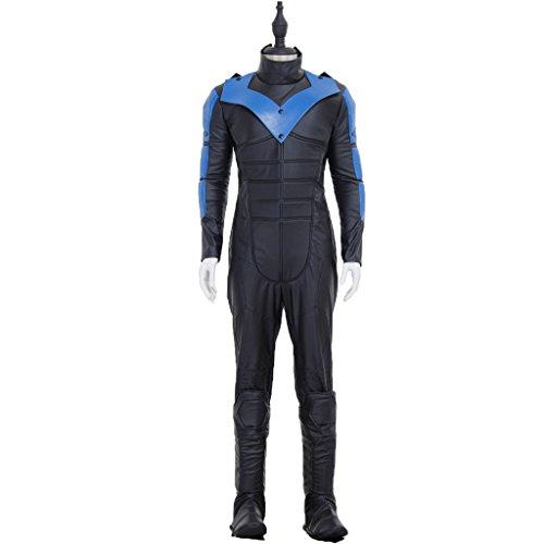Nightwing Costume Dick Grayson Halloween Cosplay Costume Richard