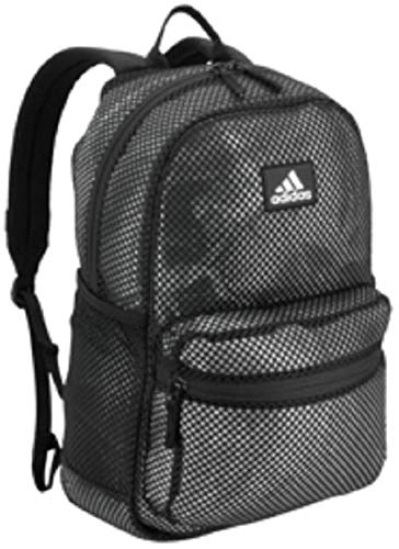 adidas Hermosa Mesh Backpack, Black, One Size