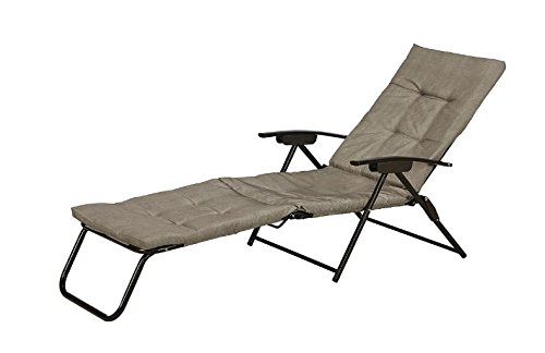 GO Neutral padded chaise