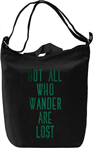 Not Everyone are Lost Borsa Giornaliera Canvas Canvas Day Bag  100% Premium Cotton Canvas  DTG Printing 