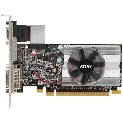 2KD4522 - MSI R6450-MD1GD3/LP Radeon HD 6450 Graphic Card - 625 MHz Core -  1 GB DDR3 SDRAM - PCI Express 2 1 x16 - Low-Profile