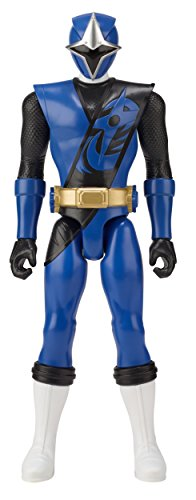 Power Rangers Super Ninja Steel 12-inch Action Figure, Blue Ranger -