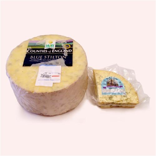 English Waxed Rind Stilton - 1 x 3.0 lb by Tuxford/Tubbet (Image #1)