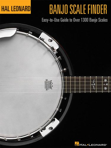 Banjo Scale Finder - 9 inch. x 12 inch.: Easy-to-Use Guide to Over 1,300 Banjo Scales (Bass Method) ()