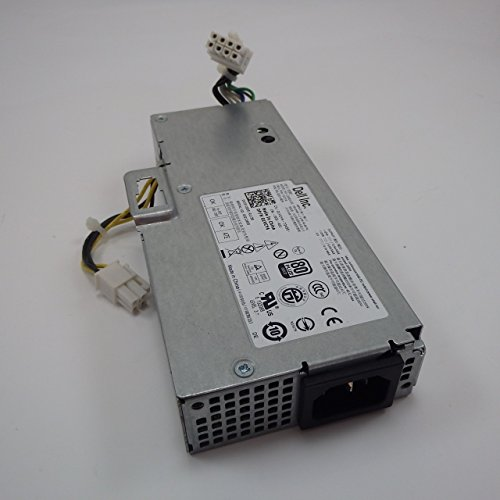 Genuine Dell 200W C0G5T, 1VCY4 Power Supply Unit PSU For Optiplex 780, 790, 990 USFF Ultra Small Form Factor Systems Compatible Part Numbers: C0G5T, 1VCY4 Compatible Model Numbers: F200EU-00, PS-3201-9DA, L200EU-00 by Dell (Image #1)