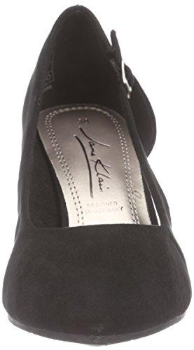 Jane Klain224 894 - zapatos de tacón cerrados Mujer Negro - Schwarz (Black 009)