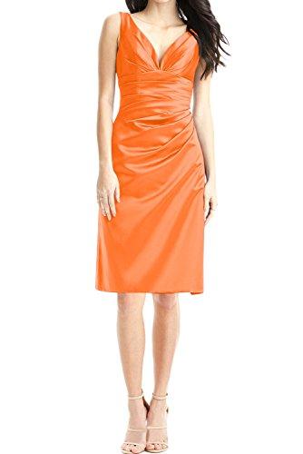 TOSKANA BRAUT -  Vestito  - Astuccio - Donna Orange 40