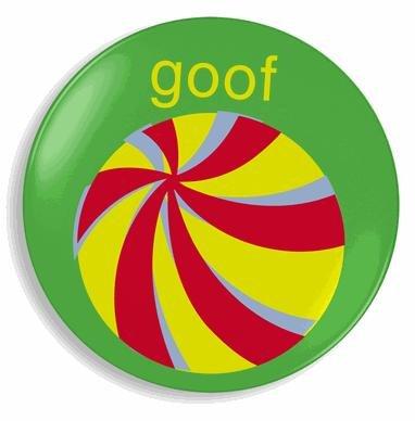 Jane Jenni Melamine Plate - Goof Ball: Amazon.co.uk: Kitchen & Home