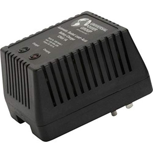 UPG D1761 Sealed Lead Acid Charger (12V Dual-Stage with Screw Terminals) ()