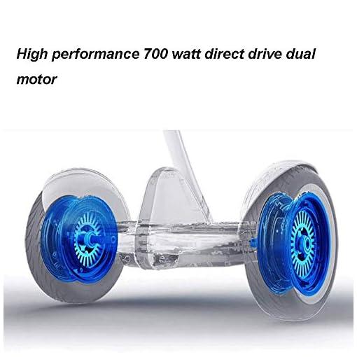 Hoverboard Electrique Auto-équilibrage Scooter.App LCD – Haut-parleur Bluetooth – 54V Moteur – LED – Boîtier en aluminium à deux modes électriques auto Balance Board Scooter Hover Scooter Board