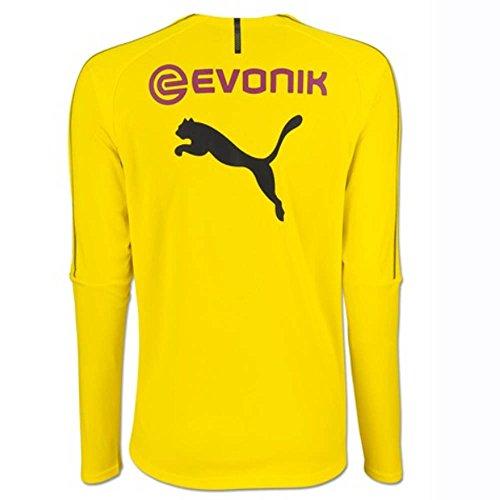 Yellow Ls Training Jersey With Cyber Sponsor Bvb Logo Puma 8FqTwB
